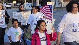"A Feb. 16 Family Unity Prayer Vigil at Methodist Community Center in Arlington, Texas, also included a march for immigrant rights. This was one of more than 1,000 United Methodist public witnesses for immigration reform since 2009 that are documented in a ""Immigration Reform Grassroots Journal"" by the General Board of Church & Society."