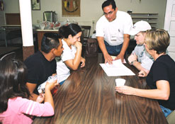 JFON volunteers help keep immigrant families united!