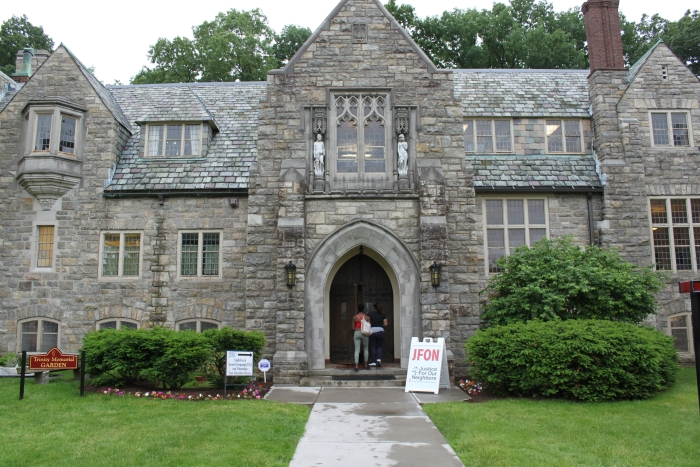 Trinity United Methodist Church welcomes our immigrant neighbors