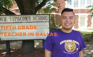 Find out more about Luis in a story we wrote back in November 2015—A Lion in the Classroom.