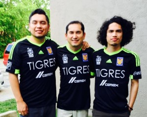 Luis coaches the Lipscomb Lions, but intense loyalty to Los Tigres is a family tradition.