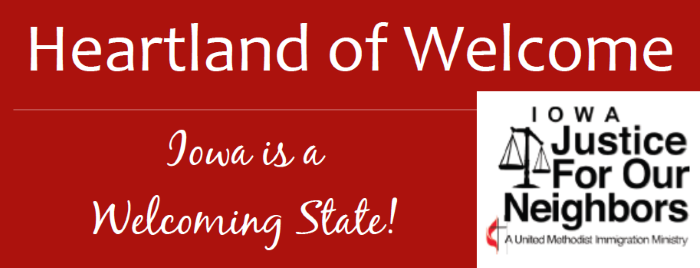 Iowa is a welcoming state for website