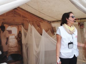 This mobile health clinic is prepared for cholera victims,
